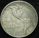 США 1-2 доллара 1923 Лос Анжелес Unc серебро