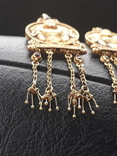 Золотые серьги Деметра photo 6
