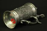 Коллекционная пивная кружка. Олово. Клеймо. Германия. (0417) photo 7
