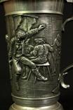 Коллекционная пивная кружка. Олово. Клеймо. Германия. (0417) photo 12