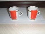 Две агитационные чашки с клеймами