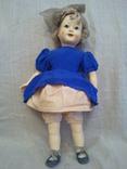 Красивая кукла прессованные опилки Харьков с зубками родная одежда