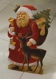 Дед Мороз кортонный под елку.