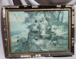 """Картина Генриха Семирадского """"У источника"""", репродукция."""