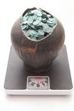 Клад скарб боратинок (солідів) 7300 штук разом з глечиком photo 4