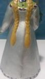 Снегурочка папье маше 22 см . photo 11
