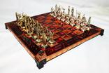 Коллекционные шахматы Marinakis bros. Латунь покрытие
