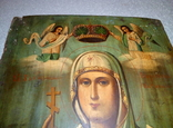 Икона Параскевы Пятницы. Размер 35-25.5-2 см. photo 2