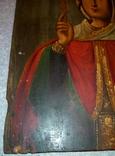 Икона Параскевы Пятницы. Размер 35-25.5-2 см. photo 6