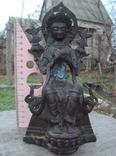 Будда Майтрея, бронза, высота 21 см.