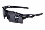 Очки спортивные Robesbon черные тактические велосипедные спортивные велоочки MD