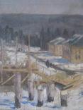 Лесной пейзаж,х-к Тюруханов., фото №8