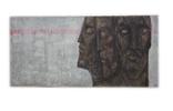 """Картина """"Волхв"""", диптих, холст, масло, 130х370см, фото №3"""