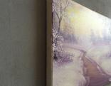 Картина Покрывало зимы, 20х30 см. живопись на холсте, с подписью автора photo 5