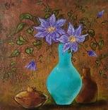 Бирюзовая ваза
