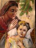 Божия матерь с ангелочком