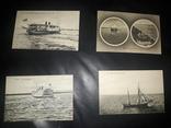 1900 - 4 открытки По Волге