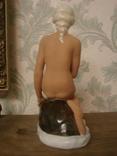 """Фарфоровая статуэтка """" Девушка на камне""""Германия photo 4"""
