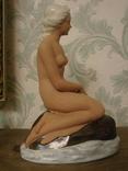 """Фарфоровая статуэтка """" Девушка на камне""""Германия photo 5"""