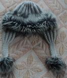 Жіноча теплесенька шапочка