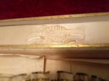 Старинный веер в родной коробке .Ручка из кости photo 2