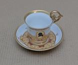 Мейссенский фарфор, в идеале: чашка и блюдце