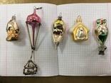 Пять ёлочных игрушек