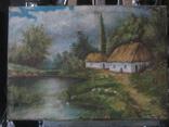 """""""Сельский пейзаж 1911г"""" худ.Ященко photo 1"""