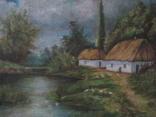 """""""Сельский пейзаж 1911г"""" худ.Ященко photo 4"""