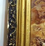 Картина (80х55) самописная красками на двп в раме-(рисунок в очень хорошем сохране) photo 2