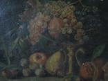 Натюрморт.,х.м. 48х69 см.(под реставрацию) photo 1