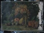 Натюрморт.,х.м. 48х69 см.(под реставрацию) photo 3