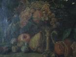 Натюрморт.,х.м. 48х69 см.(под реставрацию) photo 4