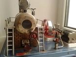 Старинная игрушка Паровая машина
