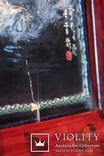 """Подписная Японская старинная Картина на дереве.<span class=""""</div""""></span> photo 10"""