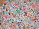 Лот иностранных марок. 530 шт.