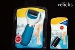 Электрическая роликовая пилка Scholl USB + 2 сменных ролика + батарейки