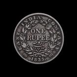 1 Рупия 1835 Вильям ІІІІ, Индия