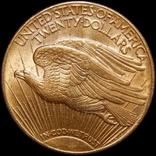 """20 доларів США 1910 року """"Сент-Годенс"""", D"""