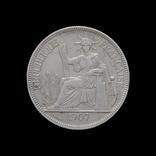 1 Пиастр 1907, Индокитай Французский