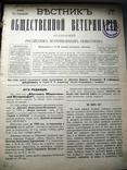 Вестник общетвенной ветеринарии 1902 (год четырнадцатый)
