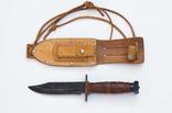 Десантный нож в родных ножнах, предп. США