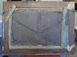 Подписная картина в раме,пейзаж,полотно, масло., фото №4