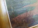 Картина в раме,пейзаж,полотно, масло., фото №8