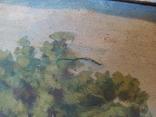 Картина в раме,пейзаж,полотно, масло., фото №9