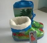 Сапоги резина (утеплённые) Heidi 29 размер
