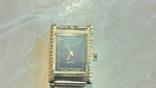 Позолоченые кварцевые часы Слава 553