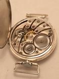 Часы наручные в серебре.