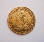 Луидор, 1726 год. Людовик XV, Франция, золото.