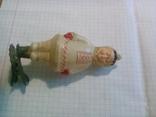 Елочная игрушка СССР Якут из серии дружба народов